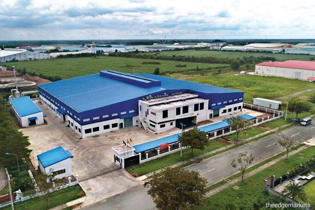 Superlon's factory in Binh Duong province, Vietnam, had commenced operations in the second half of 2018. (Photo by Superlon)