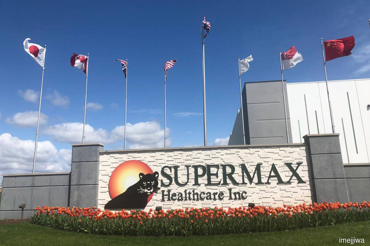 Supermax's 3Q net profit marginally lower q-o-q at RM1b, pays 13 sen special dividend