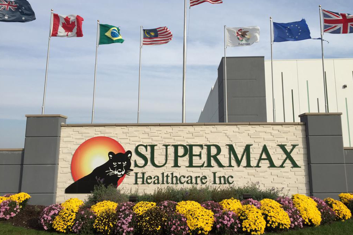 Supermax jumps after reporting record profit
