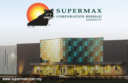 Immediate support zone for Supermax at RM2.36-RM2.42, says AllianceDBS Research