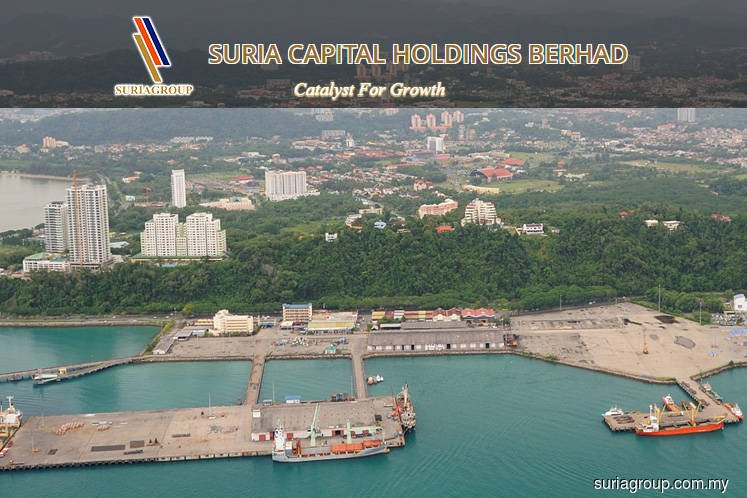 Suria Capital 1Q net profit down a third on lower port ops contribution