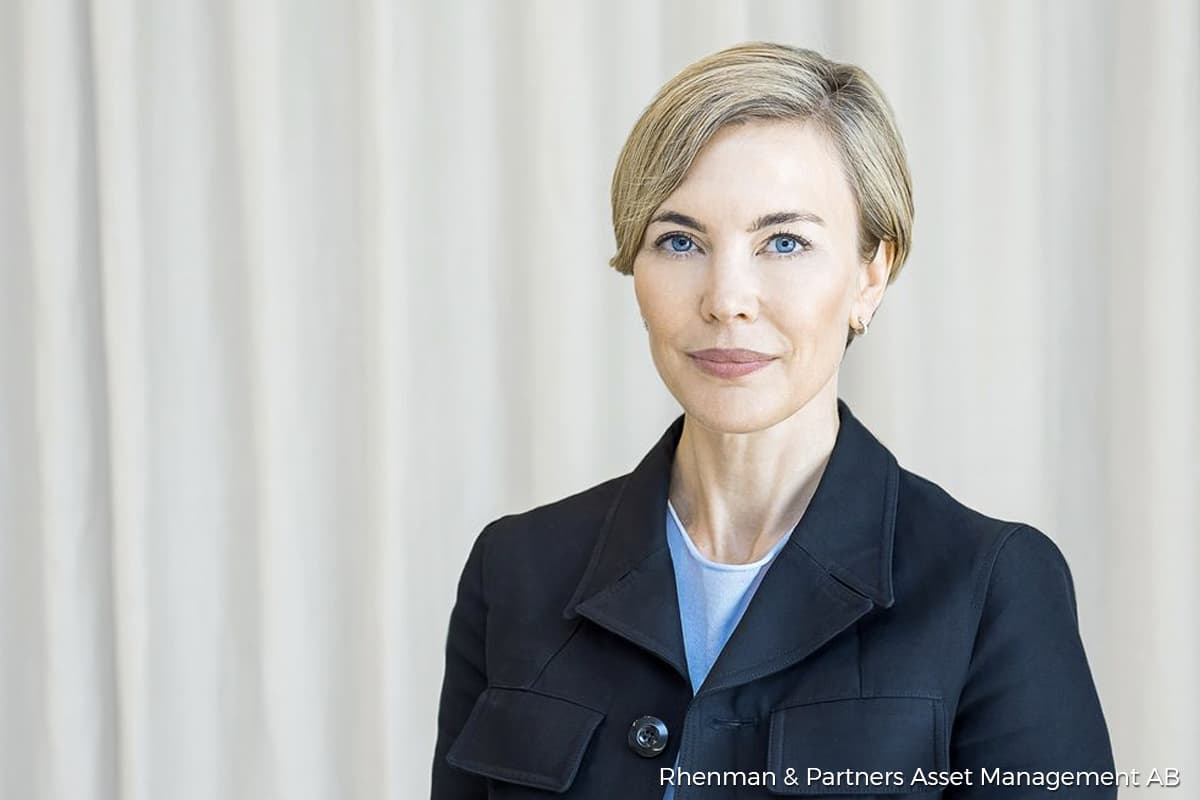 Susanna Urdmark. Photo by Rhenman & Partners Asset Management AB
