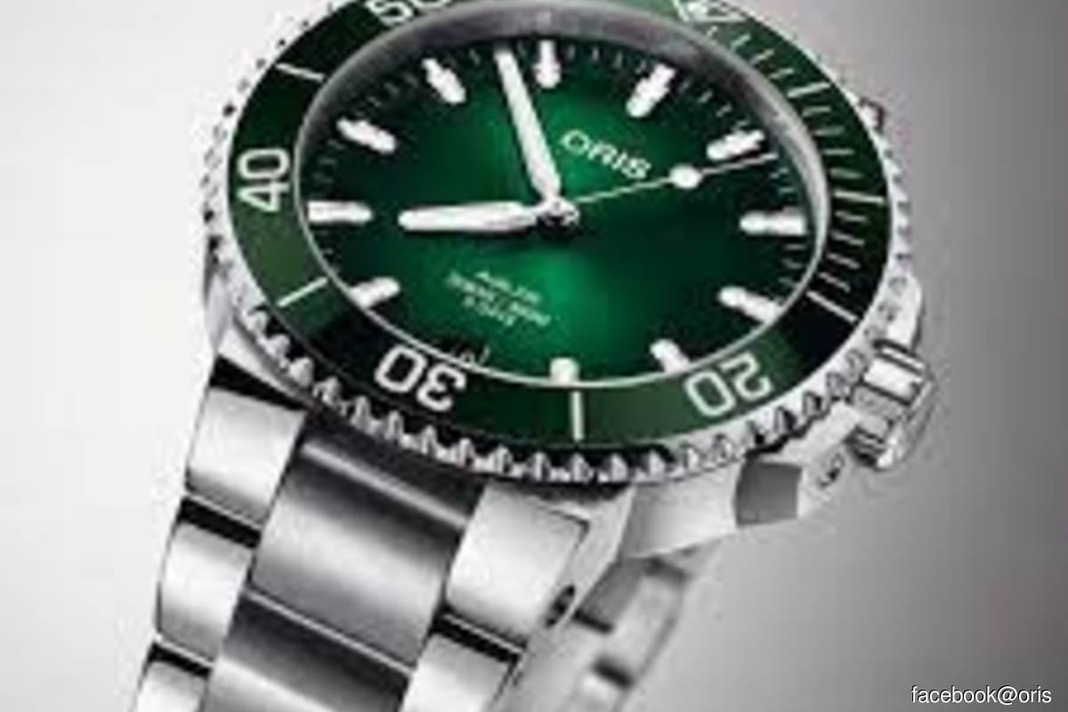 Swiss watchmaker Oris says sales still below 2019 levels