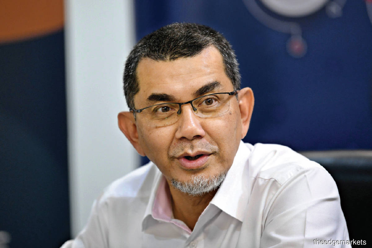 Syed Zainal: What gives us more confidence today is we have a partner like CGP. (Photo by Sam Fong/The Edge)