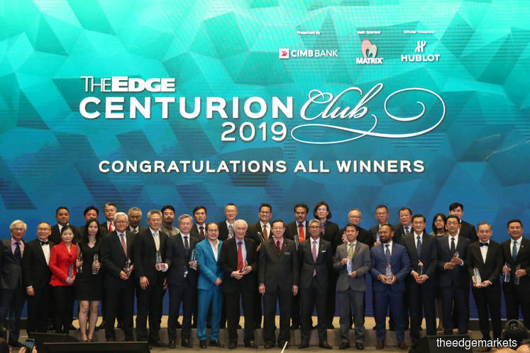 The Edge's inaugural Centurion Club Awards honour mid-cap companies