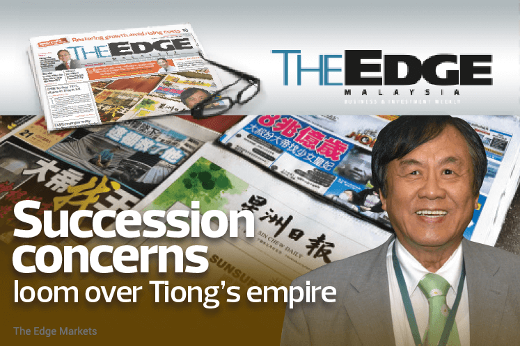 Succession concerns loom over Tiong's empire