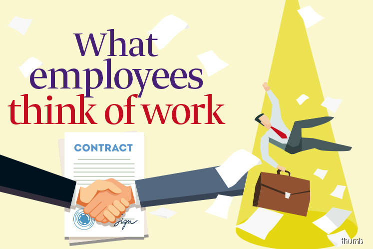 What employees think of work