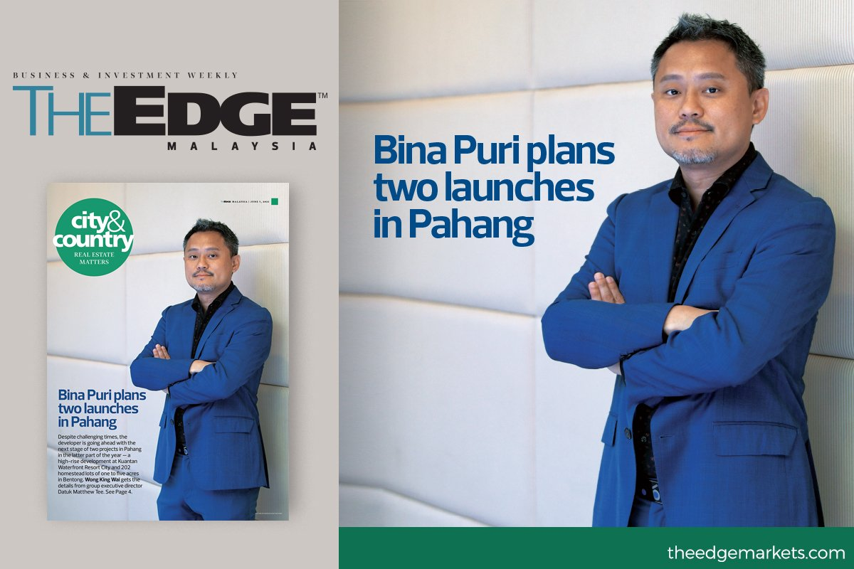 Bina Puri plans two launches in Pahang