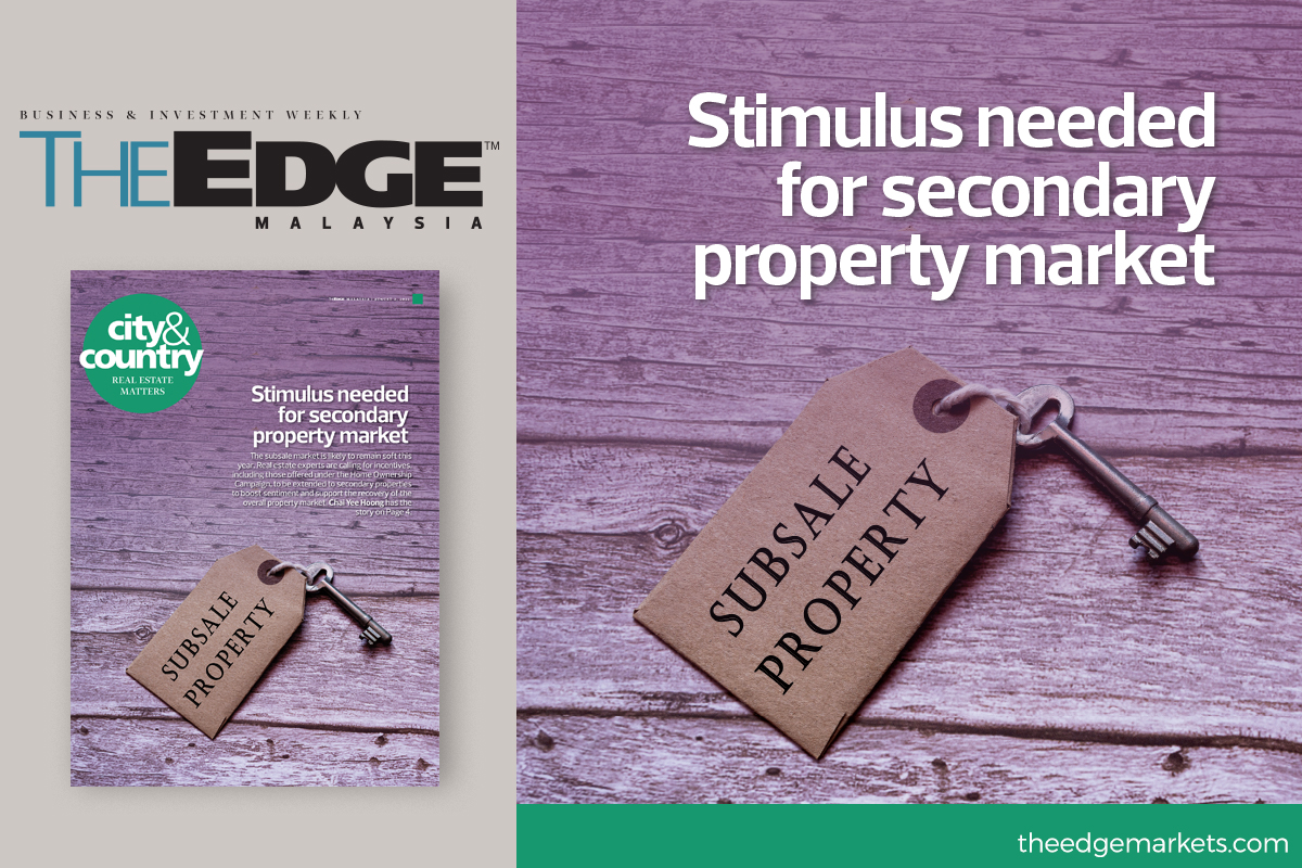 Stimulus needed in secondary property market