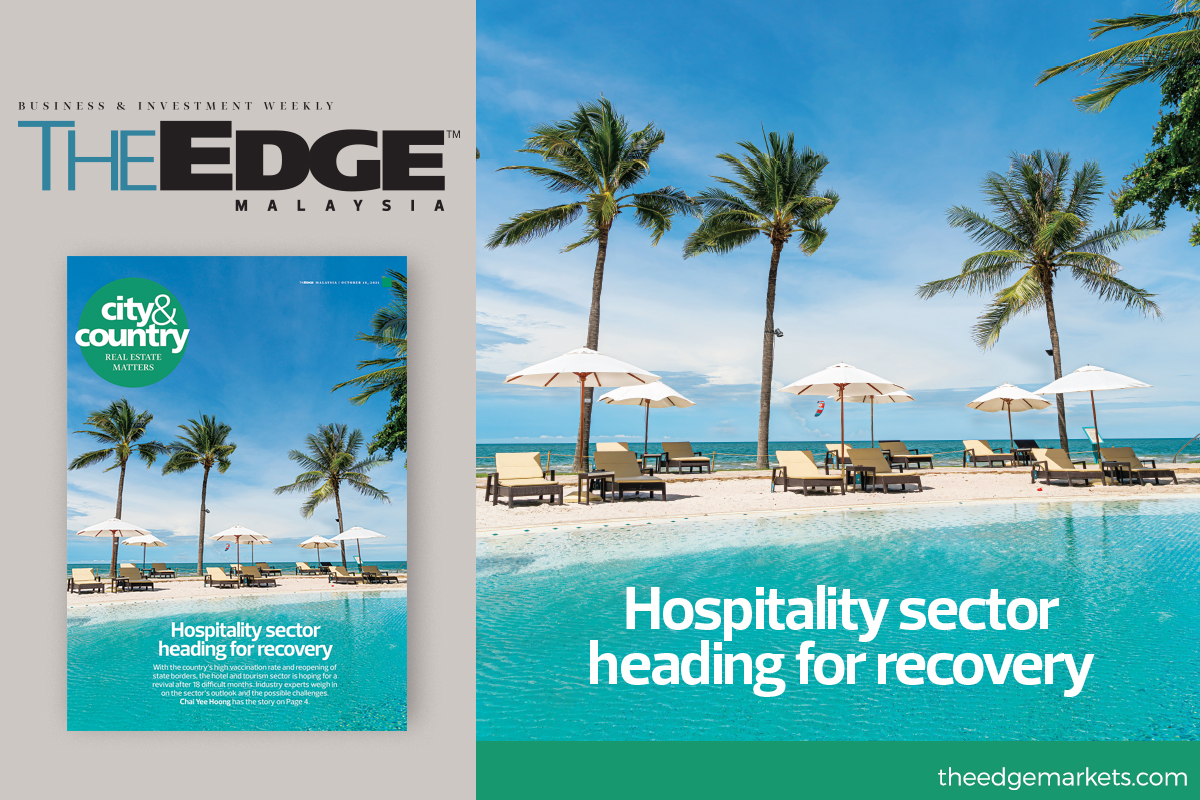 Hospitality sector heading for recovery