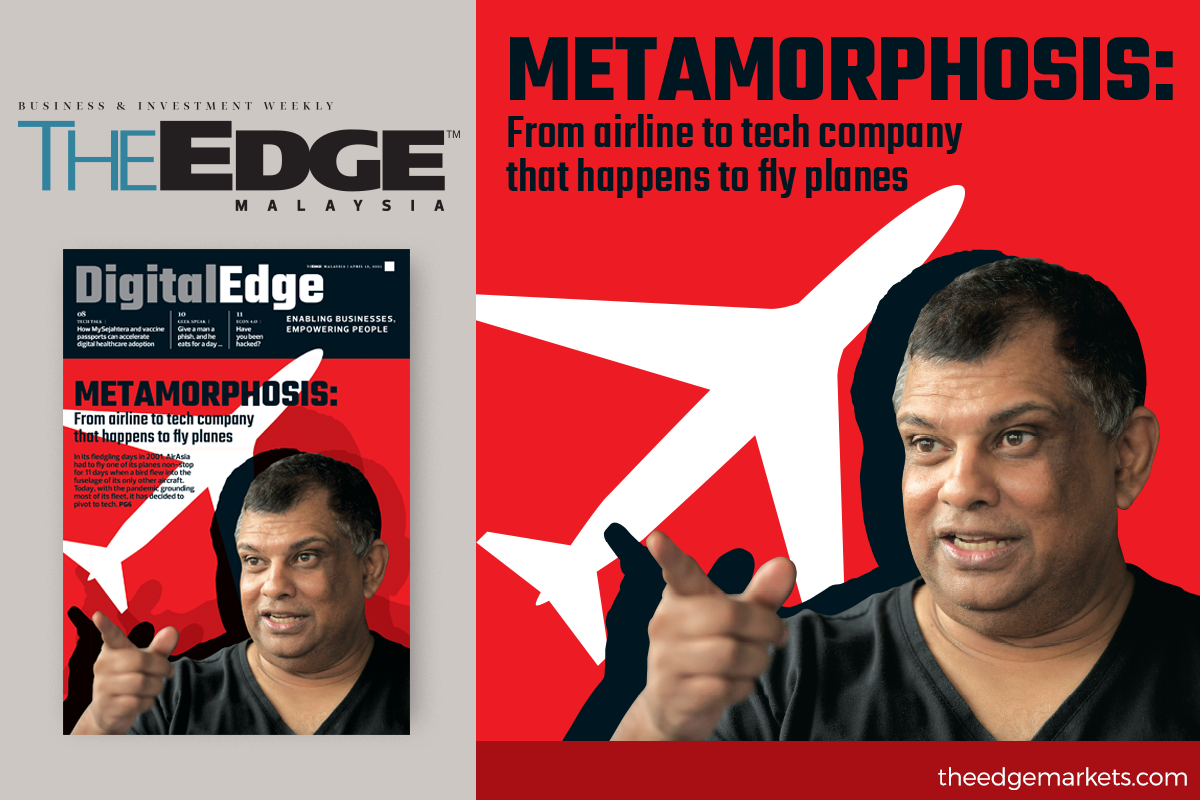Metamorphosis: From airline to tech company that happens to fly planes