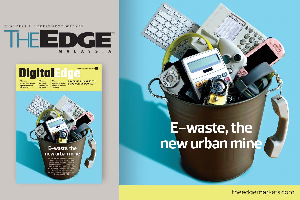E-waste, the new urban mine