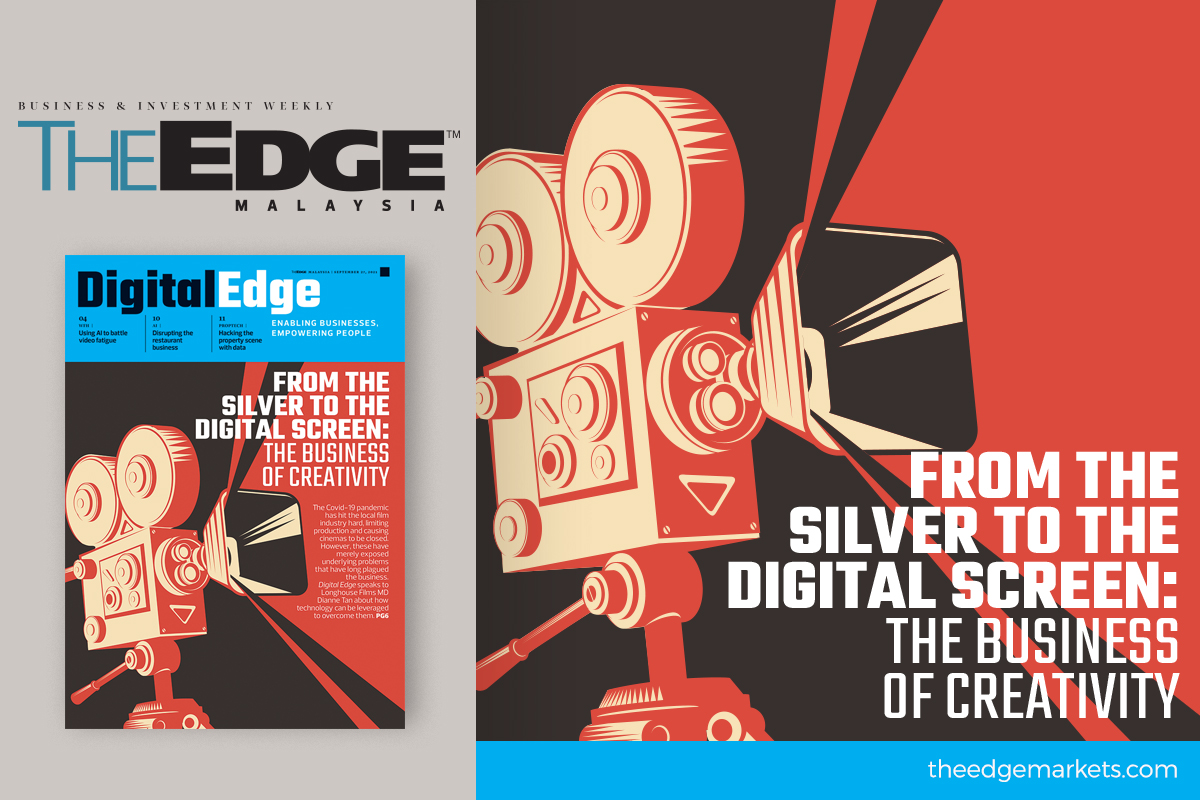 From the silver screen to the digital screen: The business of creativity