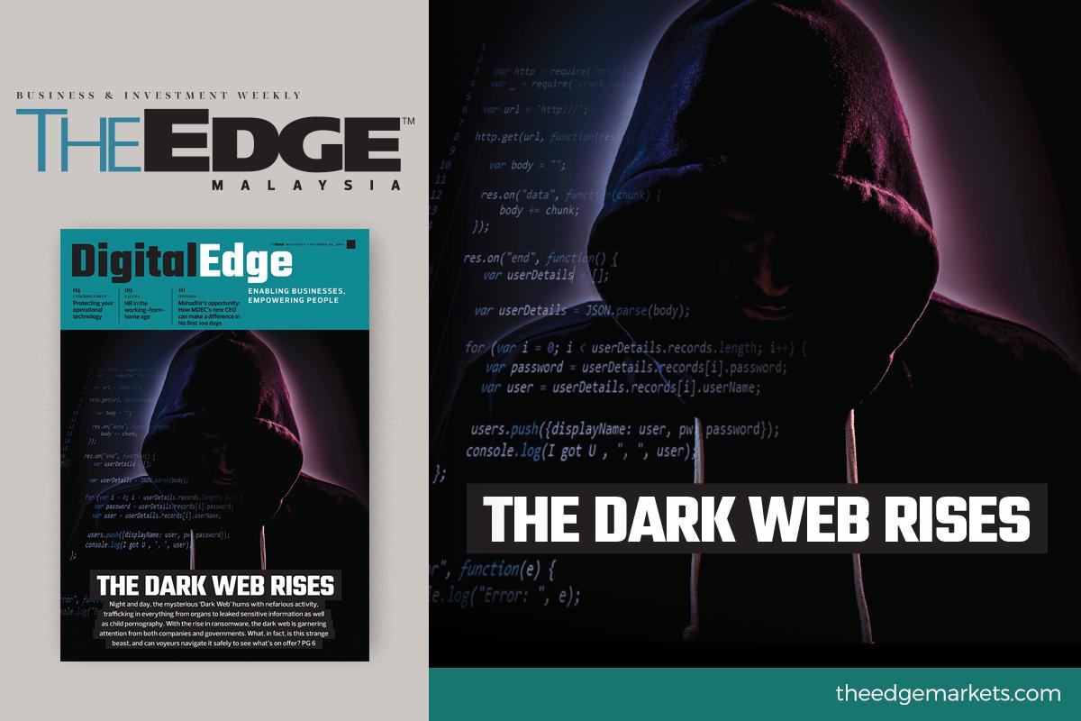 The dark web is rising