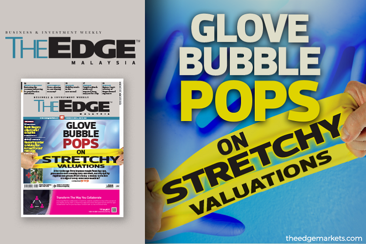 Glove bubble pops on stretchy valuations