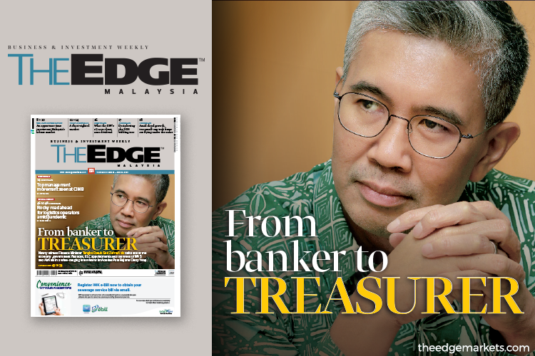 Tengku Zafrul: From banker to treasurer