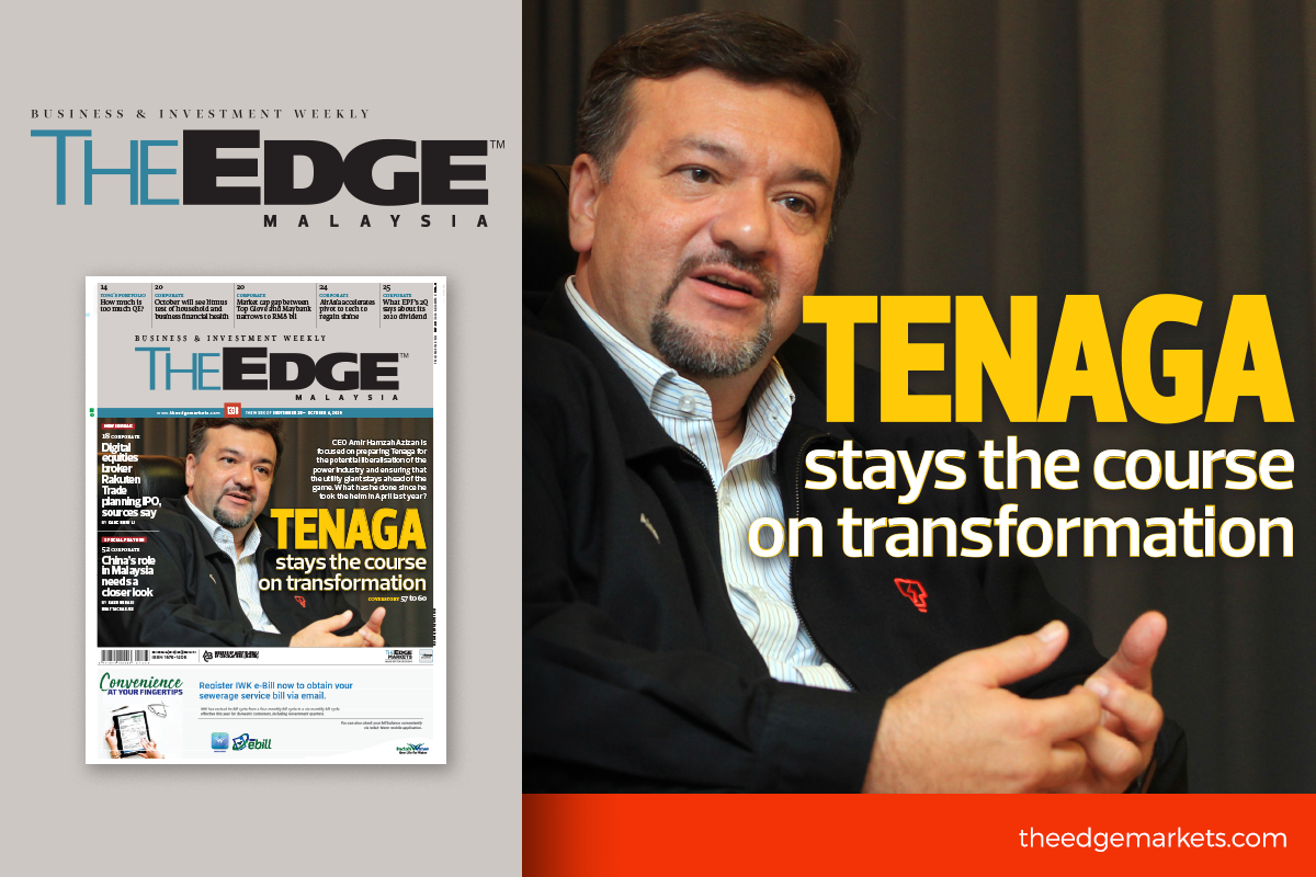 Tenaga stays the course of transformation