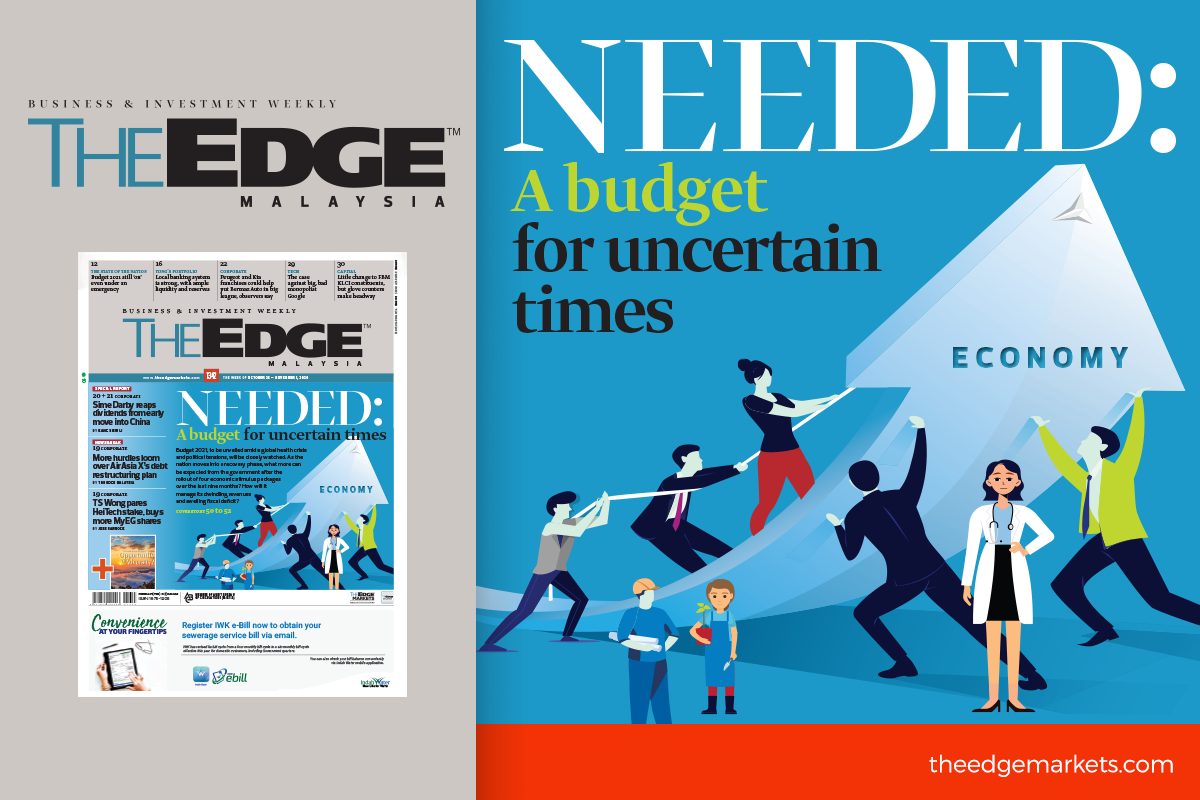 Needed: A budget for uncertain times