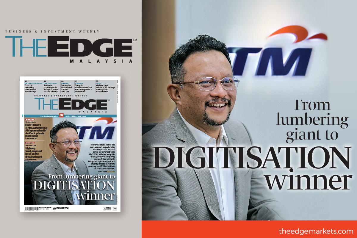 From lumbering giant to digitisation winner