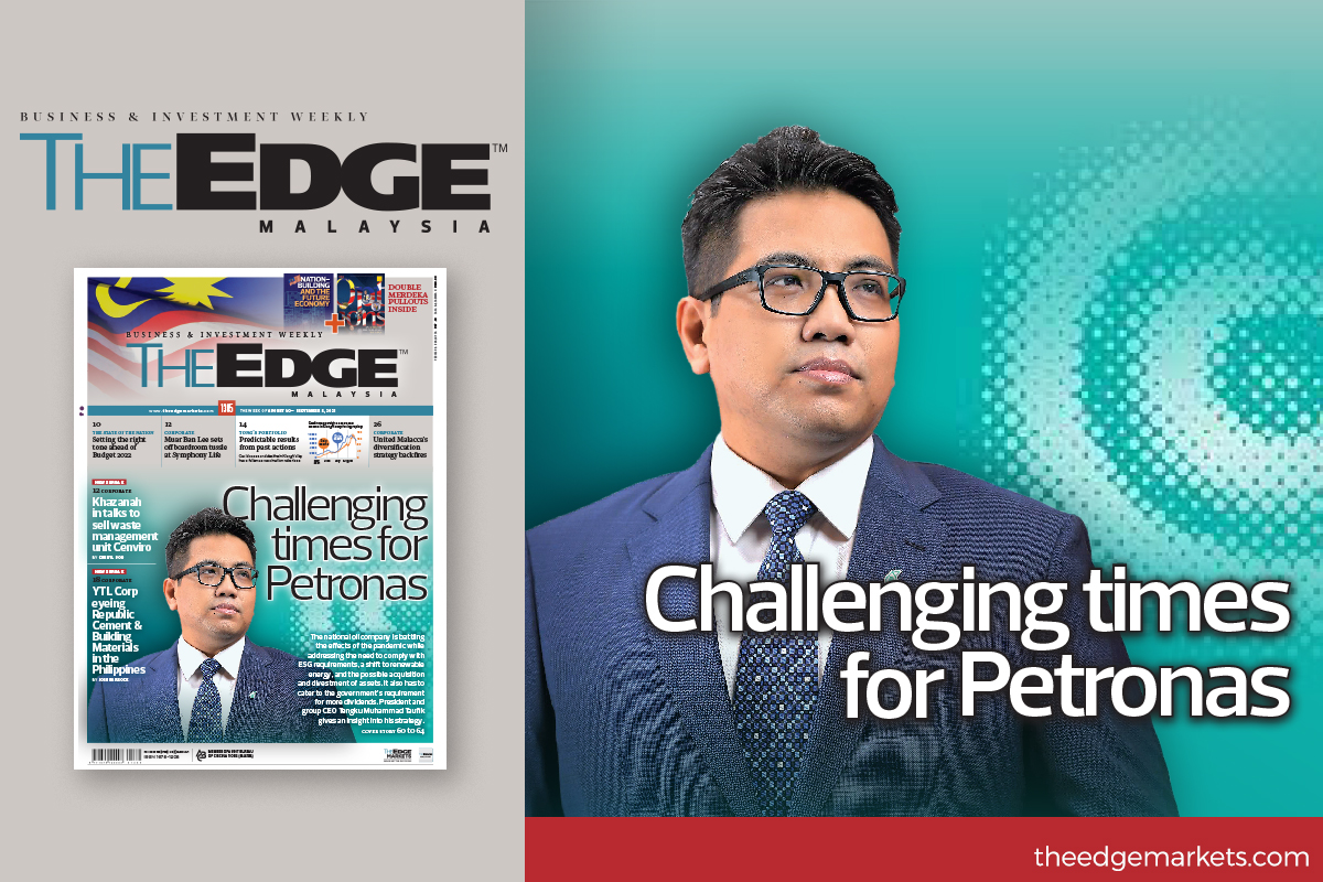 The many challenges facing Petronas