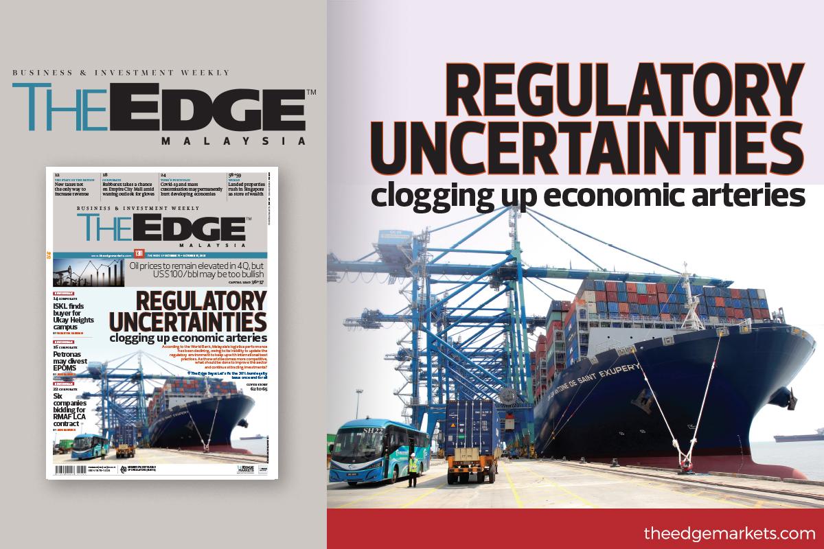 Regulatory uncertainties clogging up economic arteries