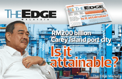 Sime Darby should be RM200b Carey Island port city 'anchor' - Port Klang Authority