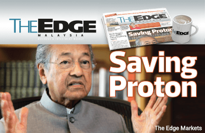 Dr Mahathir says Government's 'duty' to support Proton