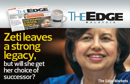 Zeti leaves a strong legacy, but will she get her choice of successor?