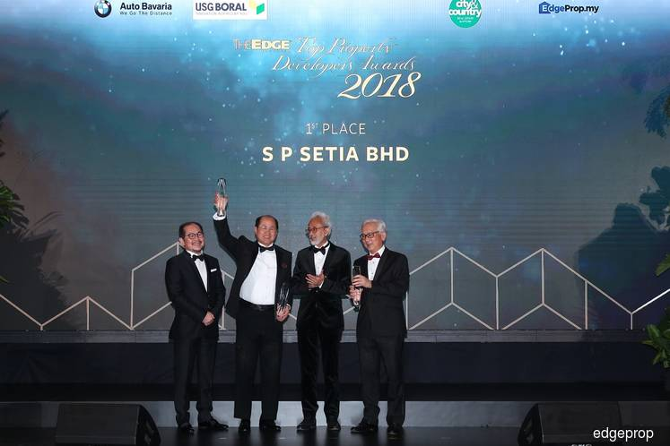 SP Setia thanks 2,300-strong team for being ranked the top developer in Malaysia