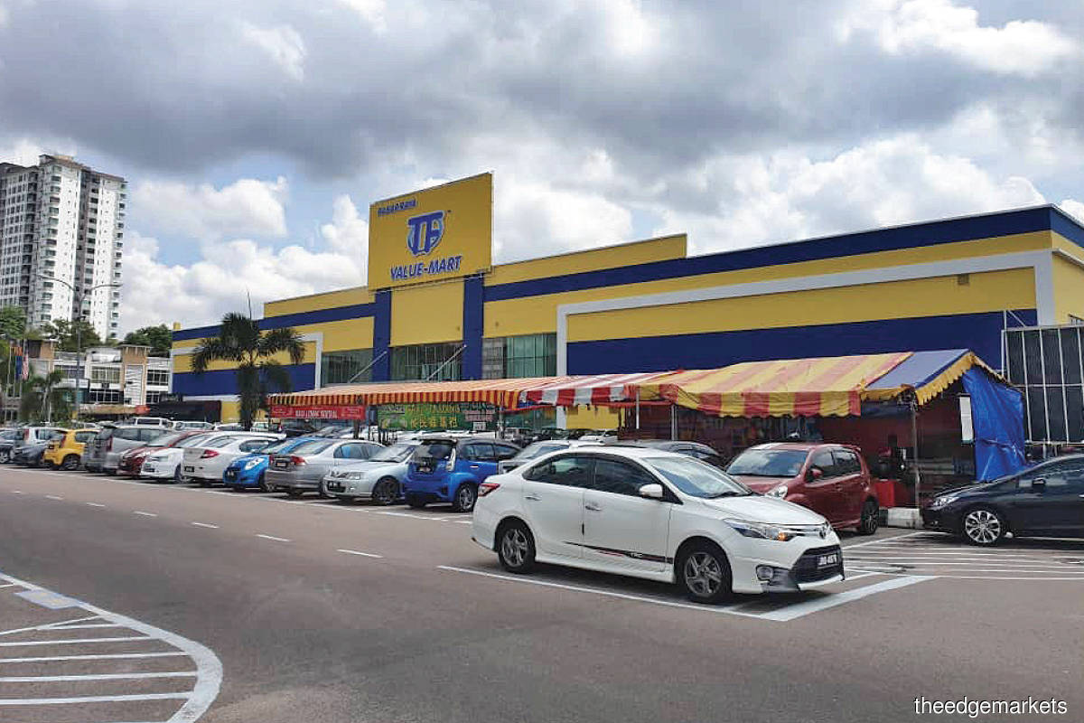 A TF Value-Mart in  Nusa Bestari, Johor Baru … The hypermarket operator is thriving despite the Covid-19 pandemic