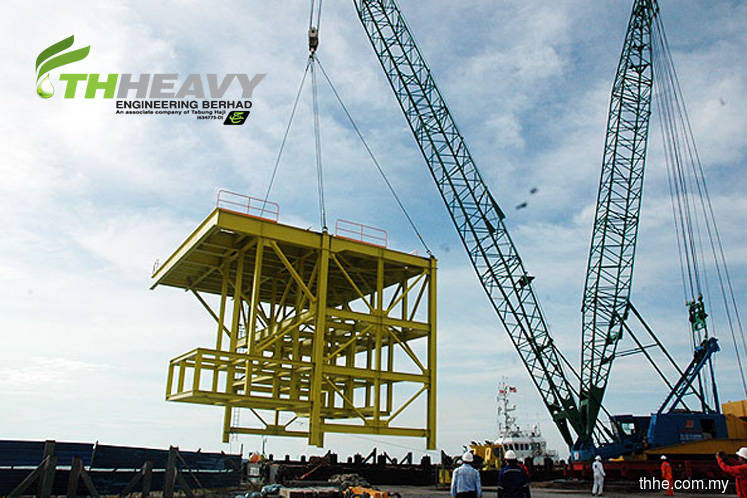 TH Heavy Engineering active, up 8.33% on landing job worth US$11.4m