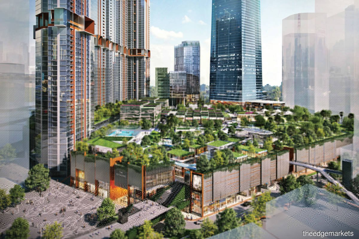 The Exchange TRX is located within the 70-acre Tun Razak Exchange development. The retail component will offer 1.3 million sq ft of net lettable area.
