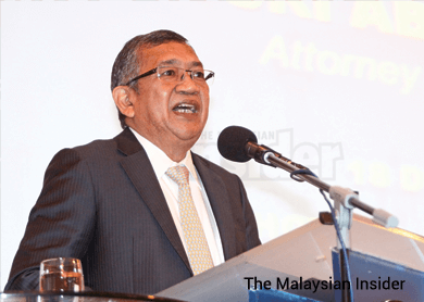 A-G in 1MDB task force only for legal advice, say 3 members