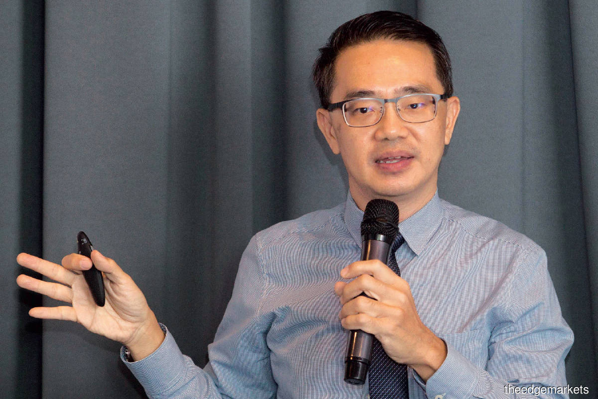 Tan: Traditional retailers cannot rely solely on physical stores to grow. They need to provide multiple channels to reach out to the modern consumer. (Photo by Patrick Goh/The Edge)