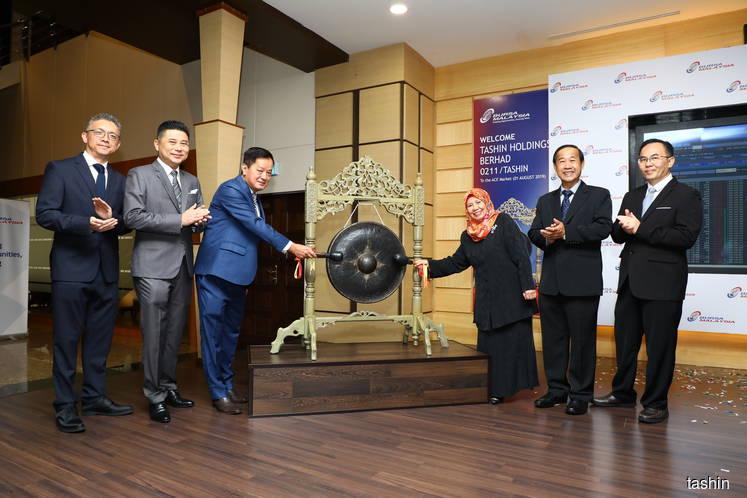 Tashin falls on ACE Market debut