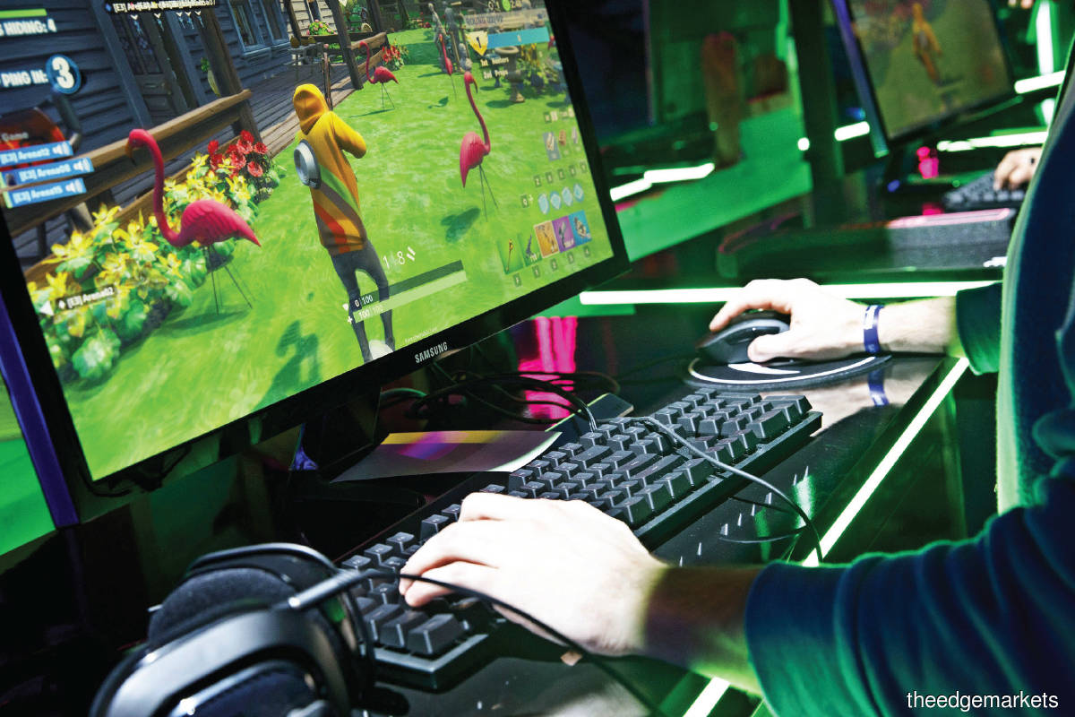 Video gaming globally is now a US$240 billion industry, if all the related services and peripherals are added in. (Photo by Bloomberg)