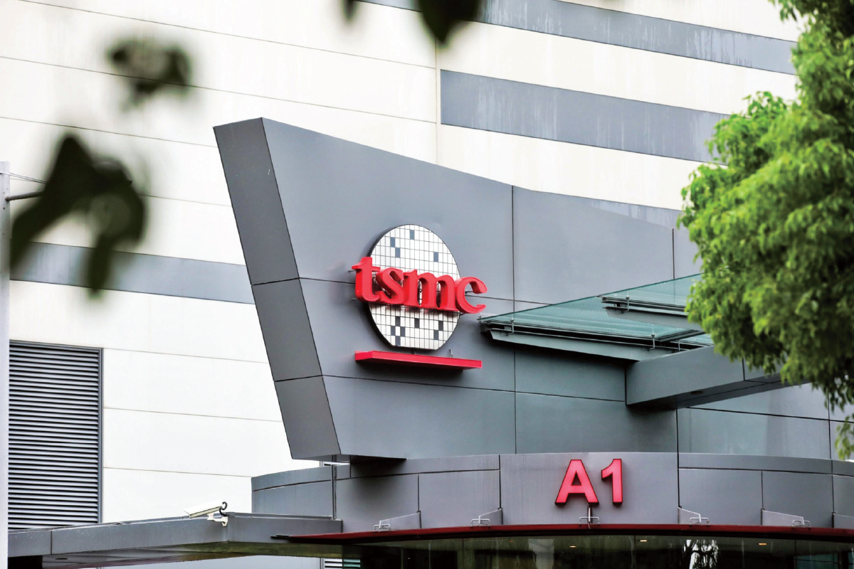 TSMC's focus has been to be the 'Switzerland of chip manufacturing'. (Photo by Bloomberg)