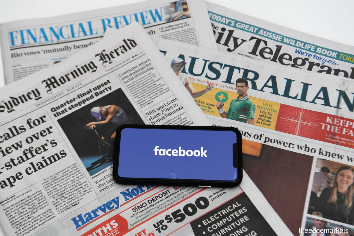Facebook refused to pay for news in Australia, only to reverse its stand five days later. (Photo by Reuters)