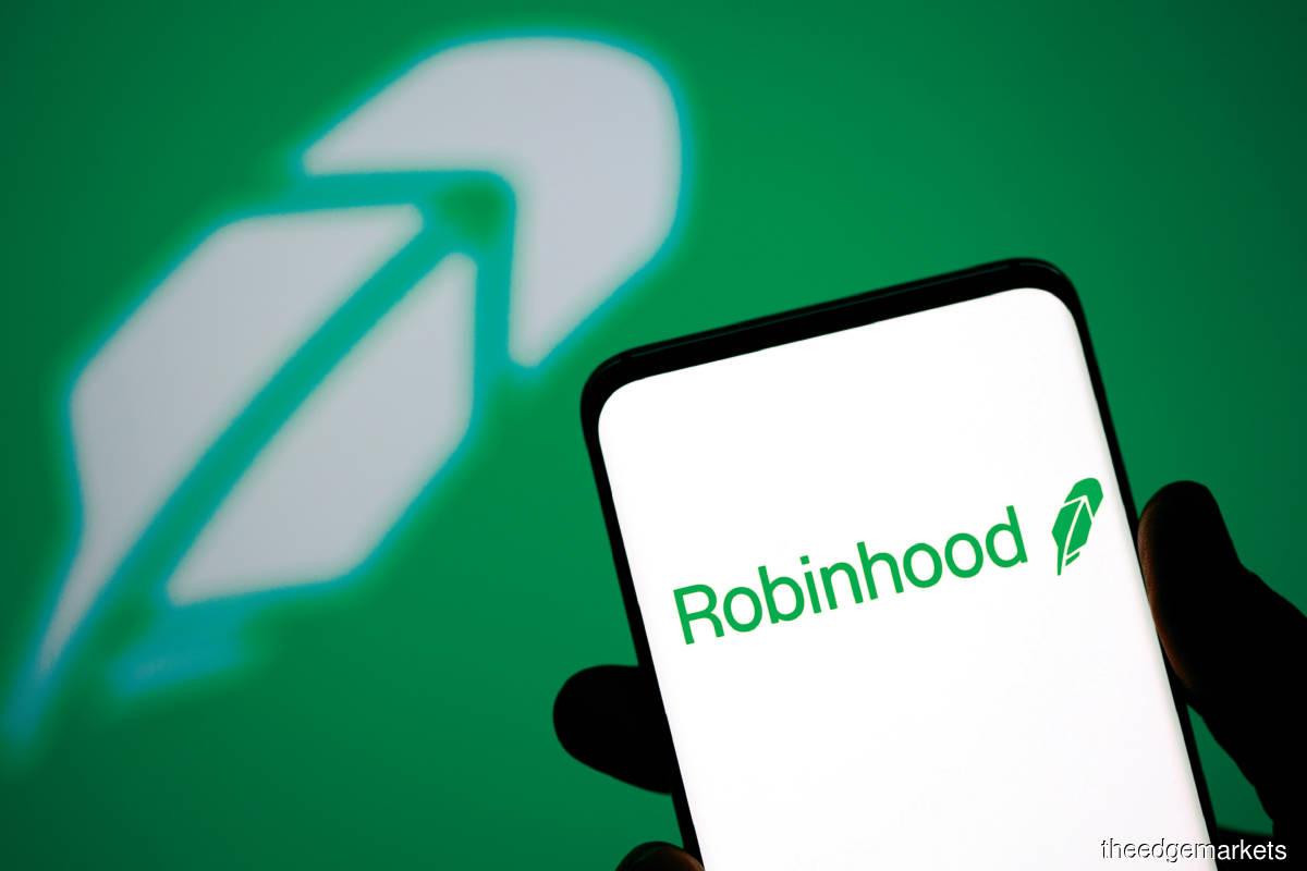 Robinhood will list on Nasdaq at a valuation of  over US$35 billion (RM147.8 billion). (Photo by  Reuters)