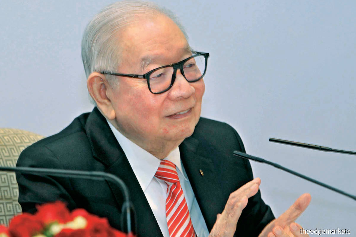 Teh tops the list with a dividend payout of RM668.18 million from his shareholdings in Public Bank and LPI Capital (Kenny Yap/The Edge)