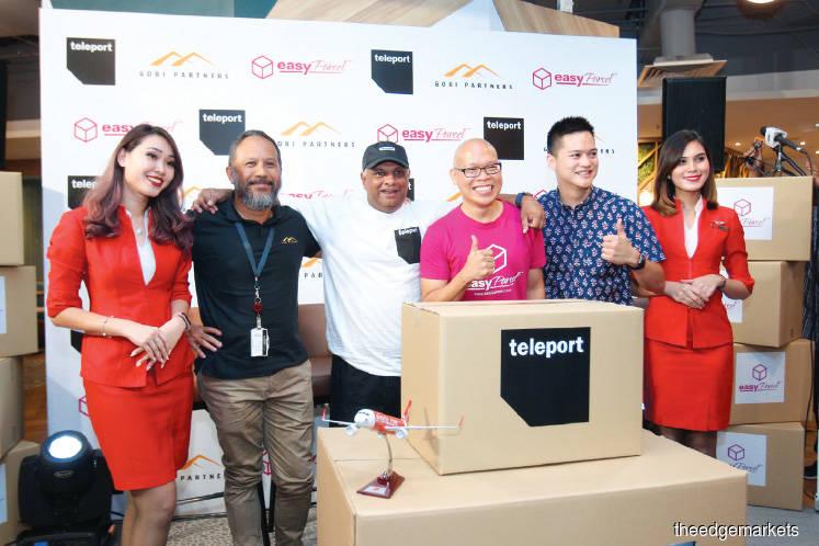 AirAsia's Teleport, Gobi invest in EasyParcel