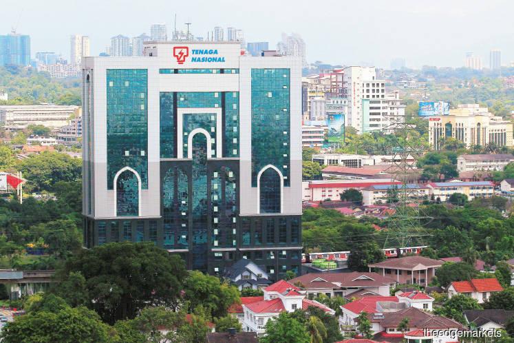 Tenaga Nasional rises 4.1%, climbing the most in 2018