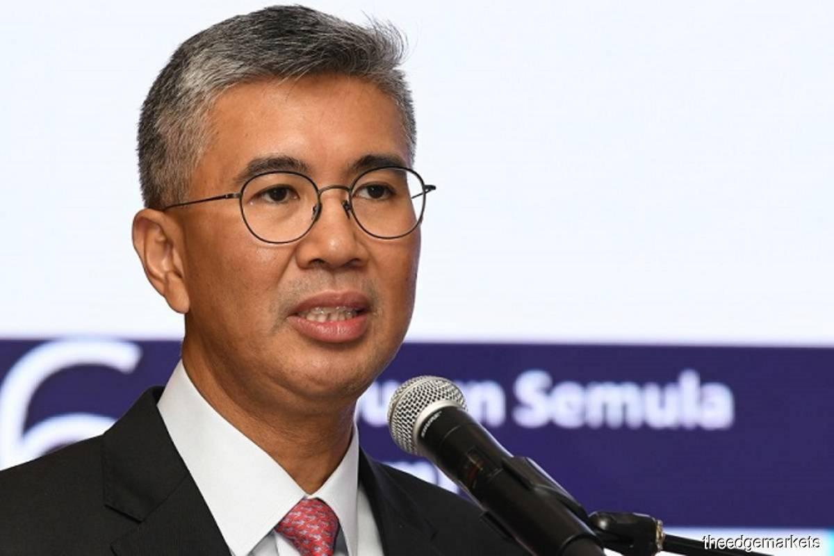 Tengku Datuk Seri Zafrul Abdul Aziz (Photo by Mohd Izwan/The Edge filepix)