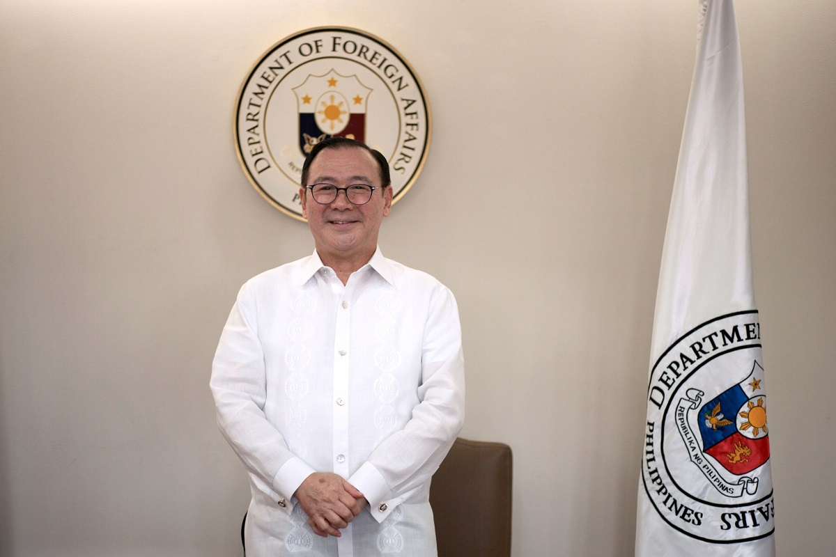 Foreign Affairs Secretary Teodoro Locsin (Photo by Bloomberg)