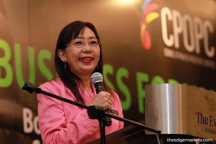 Teresa Kok calls for greater industry participation in promoting palm oil use