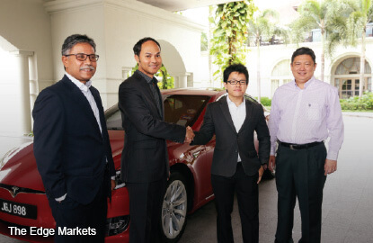 Insas jumpstarts electric Tesla leasing business