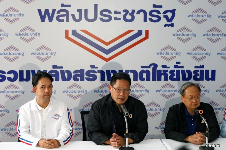 Palang Pracharat Party in talks to team up with coalition partners