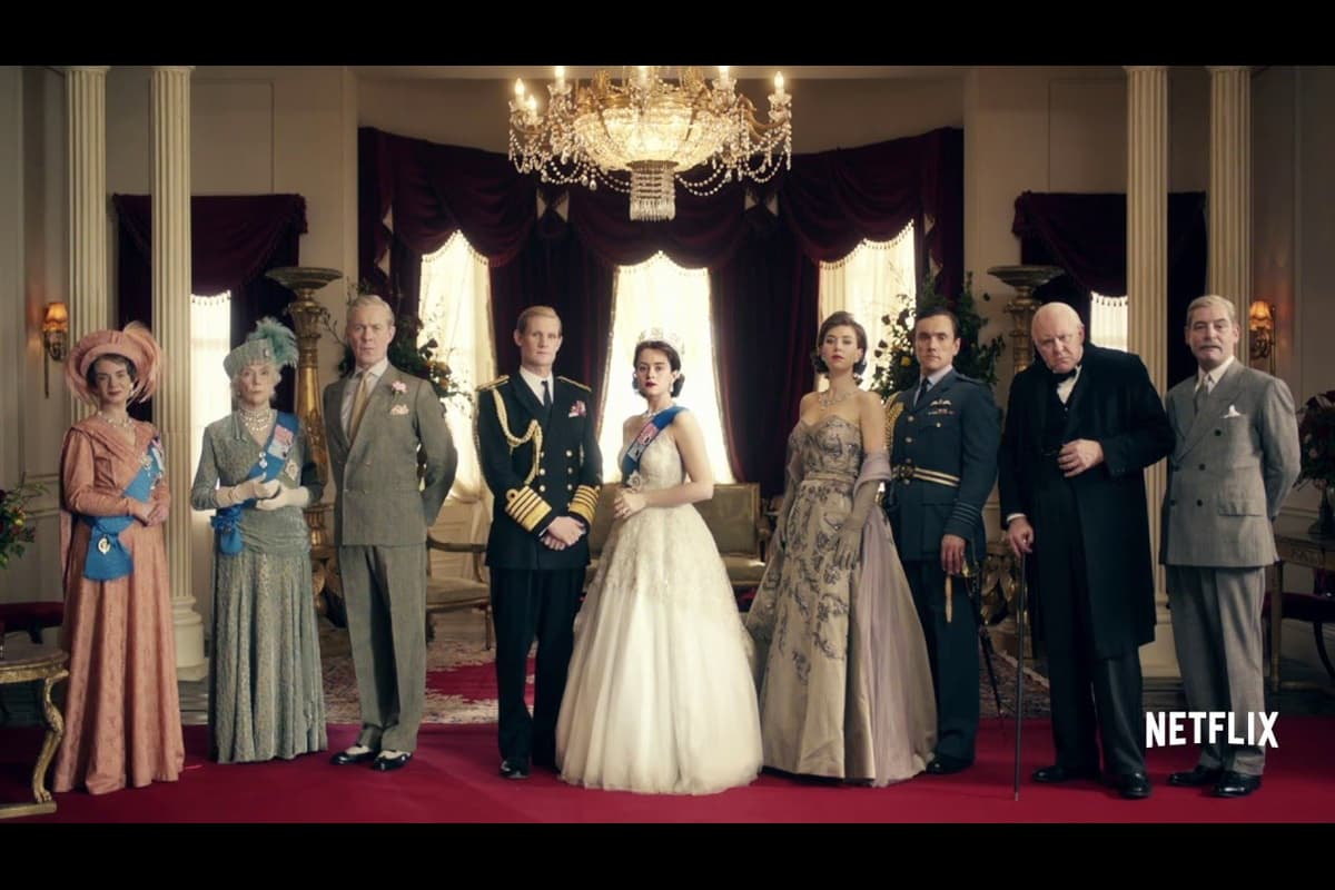 'The Crown' wins big at Golden Globes in boost to Netflix