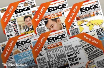 公账会报告与《The Edge》此前就1MDB的报道