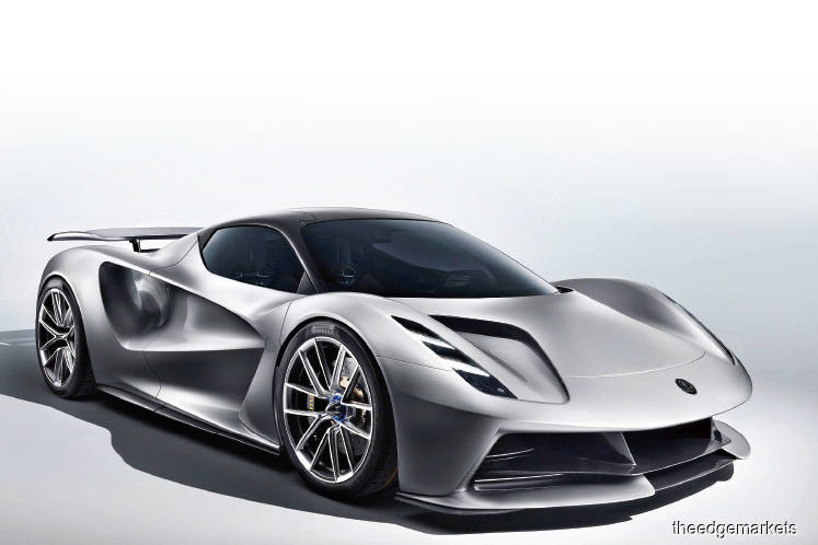 Lotus' US$2.1m Evija Electric Hypercar